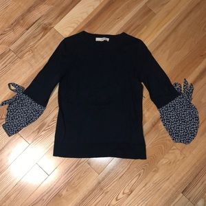 NWOT Loft sweater with 3/4 sleeves